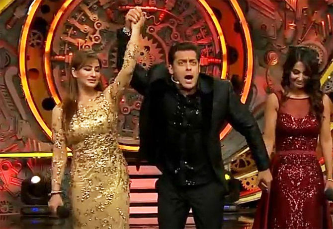 Big Boss11, Shilpa Shinde, Hina Khan, Vikas Gupta, Big Boss 11 Winner