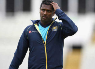 Angelo Mathews, Triangular series, Muscles Stretch