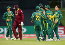 UNder 19 world cup, South Africa Vs West Indies, Knock Out, Cricket News