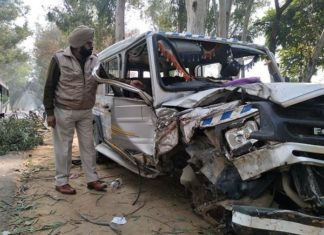 Road Accident, Injured, Heart Attack, Faridkot