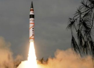 Ballistic Missile, Agni1, ITR, Strategic Forces Command, mobile Launcher