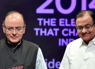 P. Chidambaram, Arun Jaitley, Budget