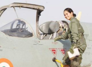 Avni, Flying Officer, Avni Chaturvedi, Fighter Plane Pilot