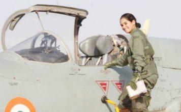 Avni, Flying Officer, Avni Chaturvedi, Fighter Plane Pilot