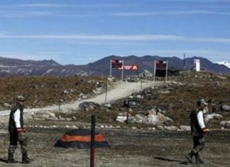India-China Border, Doklam, Contruction work in Doklam,,