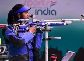 Indian Shooter Elavenil Valarivan