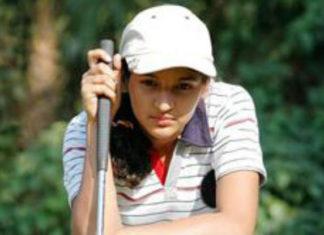 Golfer Neha Tripathi