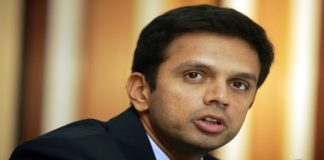 Former Indian Cricketer Rahul-Dravid