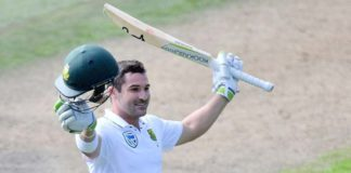South African Batsman Dean Elgar