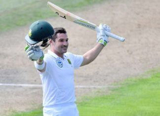 South African Batsman Dean Elgar