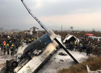 Plane Crash, Kathmandu International Airport, US-Bangla Airline, Accident