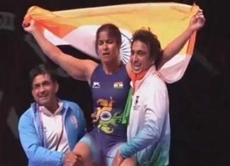 Asian Wrestling Championship, Sakshi Malik, Navjot Kaur, Gold Medal, Bronze Medal