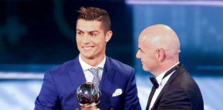 Cristiano Ronaldo become best footballer of Portugal 2017