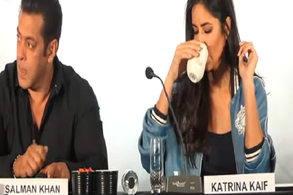 salman khan katrina kaif viral video press conference
