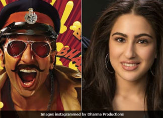 sara ali khan with ranveer singh in upcoming movie simbha