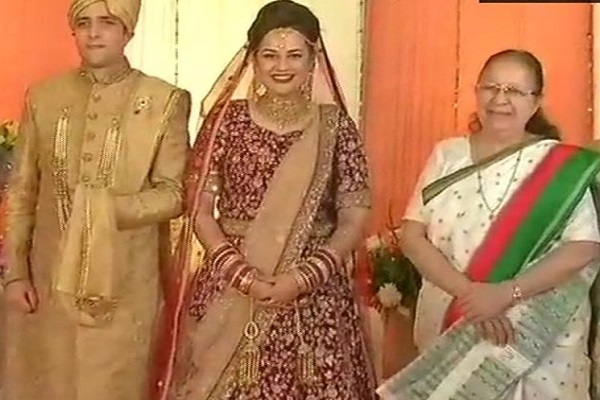 IAS topper, Tina Dabi, Marriage Reception, Delhi, Venkaiah Naidu