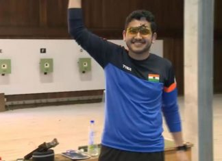 Shooter Anish wins CWG gold