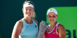 Ashleigh Barty and CoCo Vandeweghe captured their first doubles