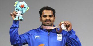 CWG 2018 Gururaj Wins Silver Medal In Weightlifting