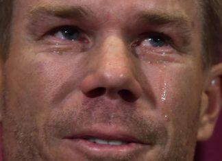 David Warner Crying At Press Conference