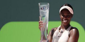 Tennis: Miami Open,Sloane Stephens