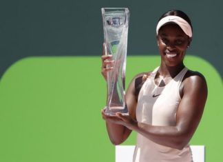 Tennis: Miami Open,Sloane Stephens