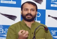 AAP, Arvind Kejriwal, DDC, Vice President, Ashish Khetan, Resign, Tweet LG