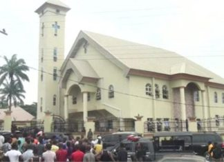 18 killed,Attack,Church,Nigeria