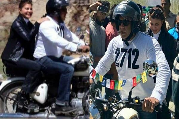 salman khan,jacqueline fernandez,bike ride,shooting race 3,viral video,pictures