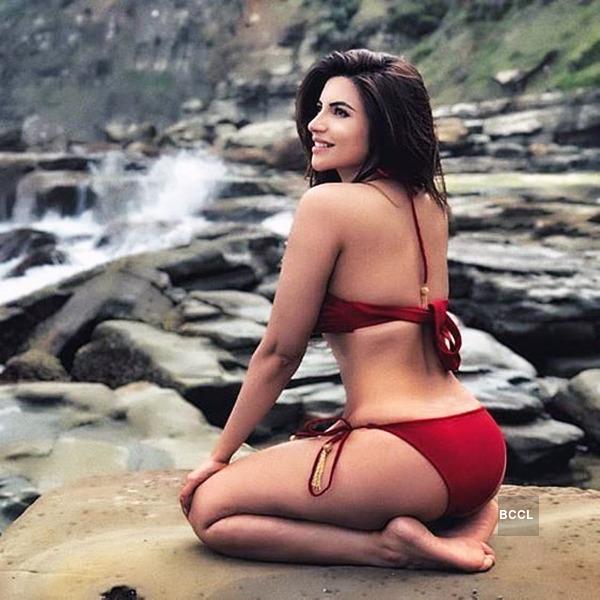 Television actress Shama Sikander