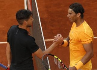 Tennis, Madrid Open, Rafael Nada,l loss, Quarterfinal