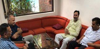 CM Arvind Kejriwal, Health Minister, Satyendra Jain, Manish Sisodiya, hunger strike
