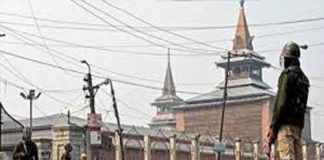 jamia masjid, srinagar, hartaal, hurriyat, namaz