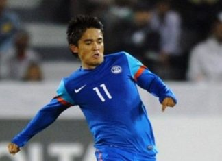 SUNIL CHETTRI,FOOTBALL,INDIA