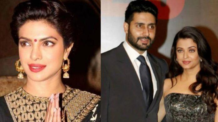 priyanka chopra,Abhishek Bachchan,Aishwarya Rai