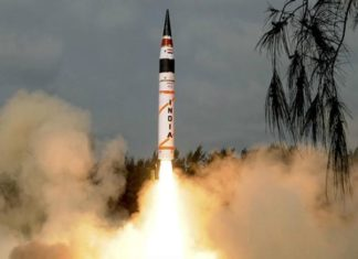 Ballistic Missile, Agni-5, India, Successful Testing, Odisha, Nuclear Weapons