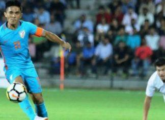 indian football team,lost,new zealand,sunil chetri