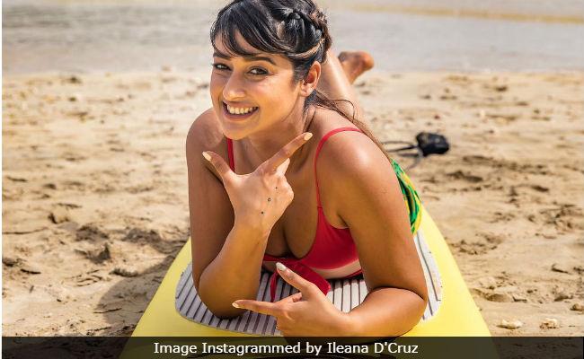 Bollywood Actress,Ileana Dcruz,fiji,holiday