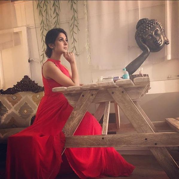 Television Actress,Jennifer Winget,Bepnah,Work,Instagram,Picture