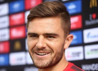 australia-defender-josh-risdon-honeymoon-hold-fifa-world-cup-2018