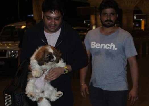 kapil sharma,spotted,airport,shocking pictures