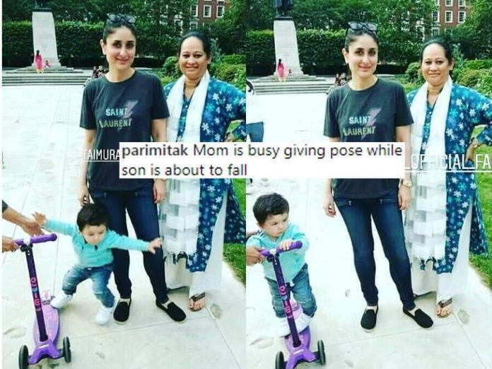 Taimur ali khan,kareena kapoor khan,trolled people