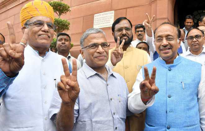 Rajya Sabha, Deputy Speaker Election, MP Harivansh Narayan Singh, MP BK Hariprasad, NDA, UPA