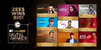 Zee5, IWMBUZZ Digital Awards