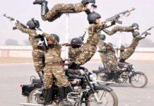 Republic Day, Sema Bhawani, BSF , Rajpath, Bike Stunt
