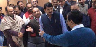 Sealing, BJP, AAP. FIR, Arvind Kejariwal, Manoj Tiwari