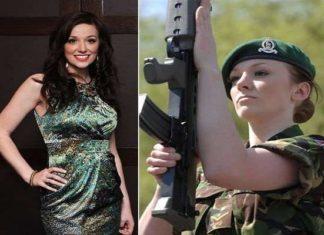 Former Miss England, Army Job, Katrina Hauj