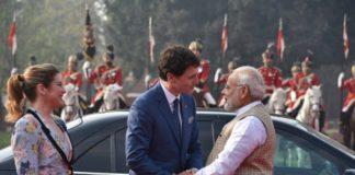 Justin Trudeau, Canadian PM, PM Modi, Gaurd Of Honour, Hyderabad House