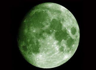 Green-moon