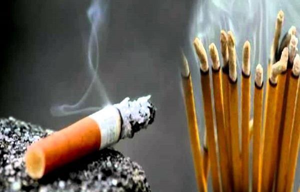 Agarbatti Smoke, Inscent Smoke, Cigarette smoke, Helth News